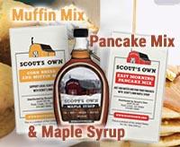 Muffin & Pancake Mix + Syrup