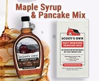 Syrup & Pancake Mix